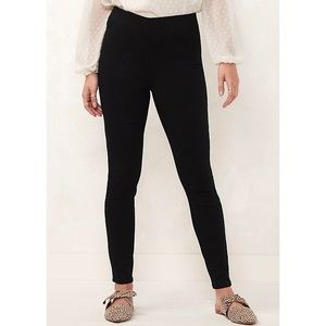 Lauren Conrad black stretchy dress pants